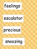 SRA ImagineIt! 2nd Grade Vocabulary Words Unit 1