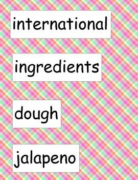 SRA ImagineIt! 2nd Grade Vocabulary Words Unit 3