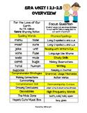 SRA ImagineIT 2nd grade Unit 1 Overview Week 2