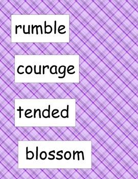SRA ImagineIt! 2nd Grade Vocabulary Words Unit 5