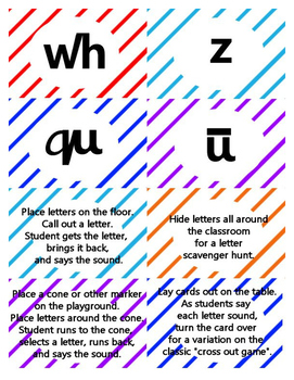 SRA Letter Sounds Cards