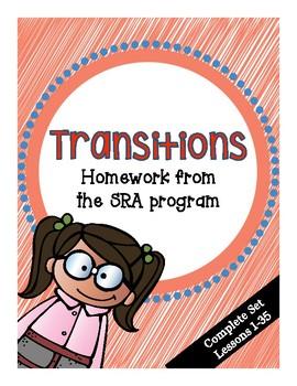 SRA Transition Homework