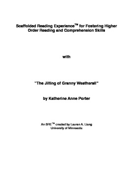 SRE: The Jilting of Granny Weatherall