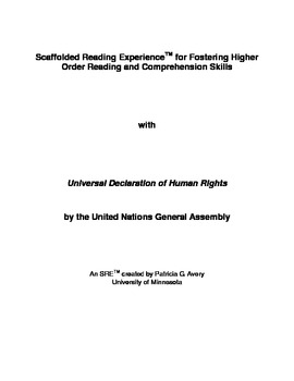 SRE: Universal Declaration of Human Rights
