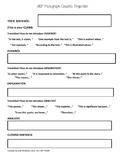 SRF (Standard Response Format) Graphic Organizer