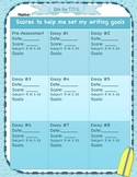 SRSD:  Goal Setting Record Form for TIDE informational/explanatory writing