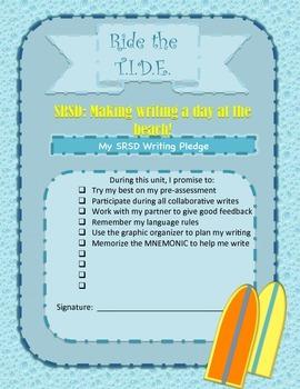 SRSD: Writing Unit Pledge