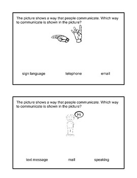 SS 6.1 Way People Communicate Extended Standards AAA