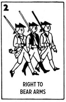SS.7.C.2.4 & 2.5 Bill of Rights Comic Strip