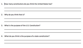 SS.7.C.3.13 Compare the constitutions of the United States and Florida.
