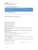 SS.7.C.4.1 Foreign and Domestic Policy Tutorial worksheet