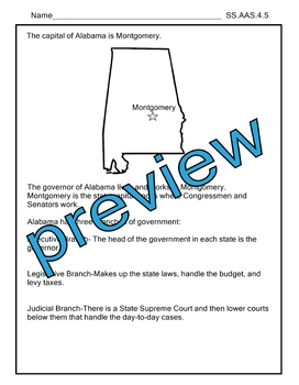SS.AAS.4.1-SS.AAS.4.5 Alabama Alternate Assessment AAA