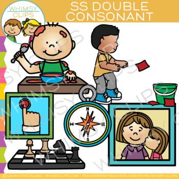 SS Double Consonant Clip Art