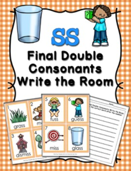 SS Final Double Consonants Write the Room