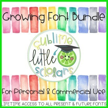 SS Fonts: The Growing Bundle