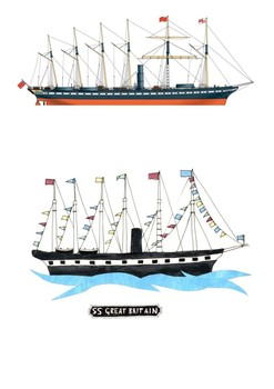 SS Great Britain Word Search