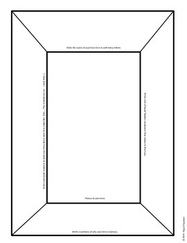 SS Interactive Notebook- SC Revolutionary Hero Wall of Fame