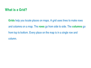 SS Unit- Geography Map Grids