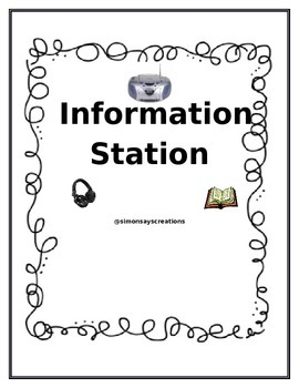 SS and Science Content Information Station for Daily 5 Listening Center