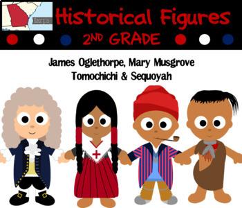 SS2H1Georgia Historical Figures-Oglethorpe, Musgrove, Tomochichi, Sequoyah