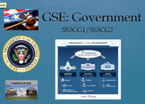 SS3CG1/SS3G2 Government and Citizenship NEW GSE Google Classroom