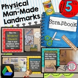 SS5G1 Physical and Man Made Features Scrapbook