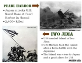 SS5H6 (B) Pearl Harbor and Iwo Jima Anchor chart and Handout