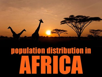 SS7G3 Population Distribution in Africa