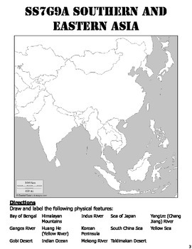 SS7G9ab Southern and Eastern Asia Map Pack