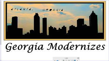 SS8H10: Modern Georgia