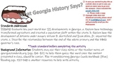 SS8H10 What does Georgia History Say