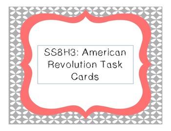 American Revolution Task Cards (SS8H3)