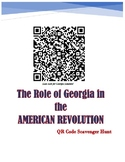 SS8H3c Georgia's Revolutionary Role QR Scavenger Hunt