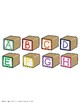 "SSI Folder Game ""Blocks on Top"" (Speech Therapy)"
