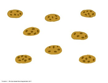 """SSI Folder Game """"Cookies"""" (Speech Therapy)"""