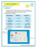 "SSI Folder Game ""Ice Cream"" (Speech Therapy)"