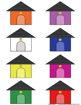 """SSI Folder Game """"Mouse House"""" (Speech Therapy)"""