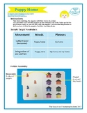 """SSI Folder Game """"Puppy Home"""" (Speech Therapy)"""