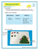 "SSI Folder Game ""Sheep on a Hill"" (Speech Therapy)"