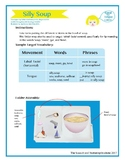 """SSI Folder Game """"Silly Soup"""" (Speech Therapy)"""