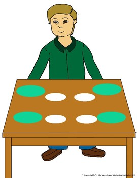 """SSI Folder Game """"Tea on Table"""" (Speech Therapy)"""