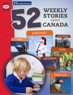 52 Weekly Stories About Canada Gr. 4-5