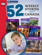 52 Weekly Stories About Canada Gr. 5-6