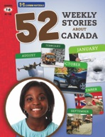 52 Weekly Stories About Canada Gr. 7-8