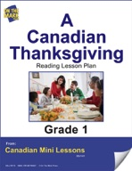 A Canadian Thanksgiving Reading Lesson Gr. 1
