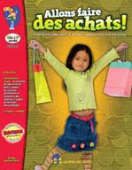 Allons faire des achats! (Enhanced eBook)
