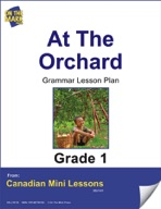 At the Orchard Grammar Lesson Gr. 1