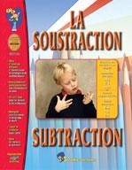 BTS La Soustraction/Subtraction Gr. 1-3