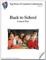 Back to School Lesson Plan