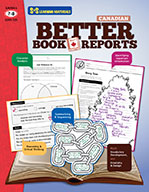 Better Book Reports Grades 7-8 - Canadian (eBook)